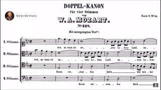Mozart/Trnka - 7 Vocal Canons (KV228-234)