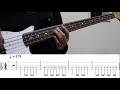 【TAB譜付き】煌めく(Kirameku)- ポルカドットスティングレイ(POLKADOT STINGRAY) ベース(Bass)