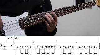 【TAB譜付き - しょうへいver.】煌めく - ポルカドットスティングレイ(POLKADOT STINGRAY) ベース(Bass)