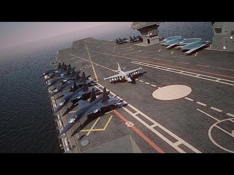 New Russian Nuclear Aircraft Carrier Shtorm | «Шторм» - новый российский многоцелевой авианосец