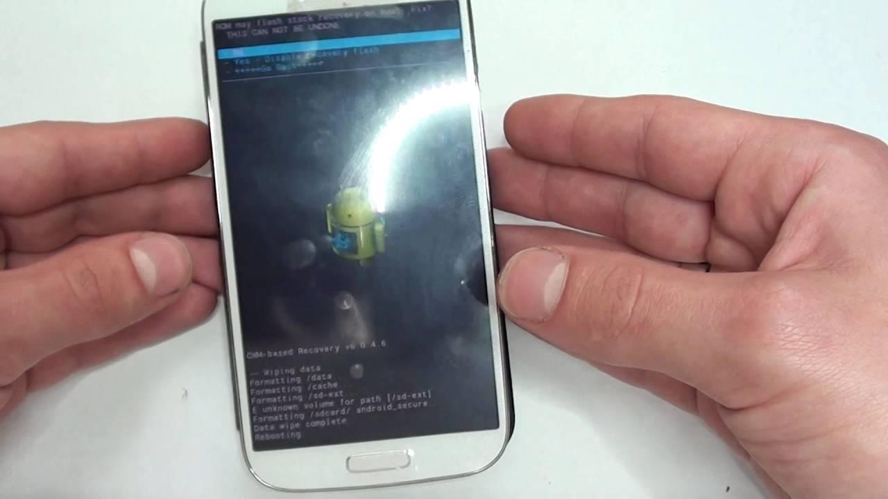 Samsung S4 I9506 HARD RESET - Restaurar / Resetear - Quitar Patron HD