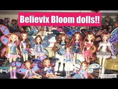 All Of My Winx Club Believix Bloom Dolls! | Happy Birthday Bloom!!