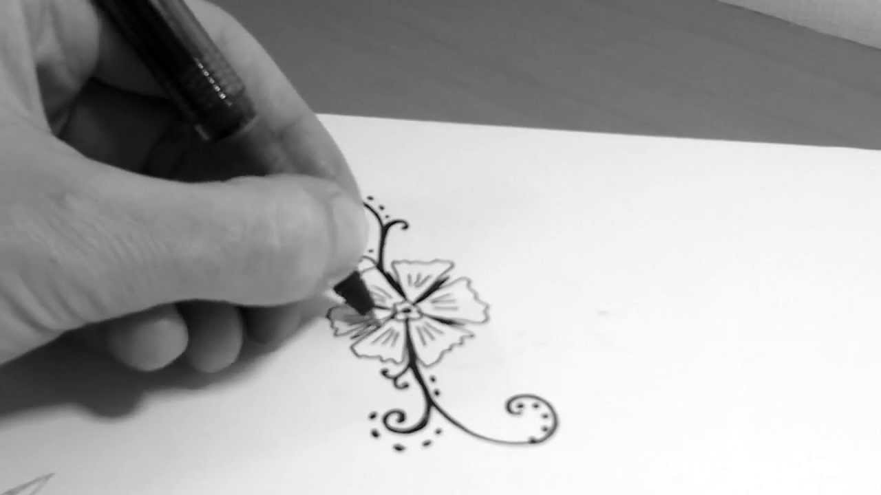 how to draw tattoo youtube