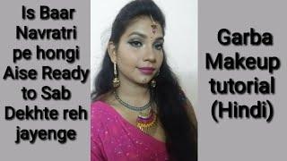 Garba makeup look (Hindi) #beauty with Suhani