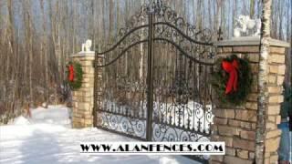 Aluminum Fences  (786) 587 8269  Www.alanfence.com