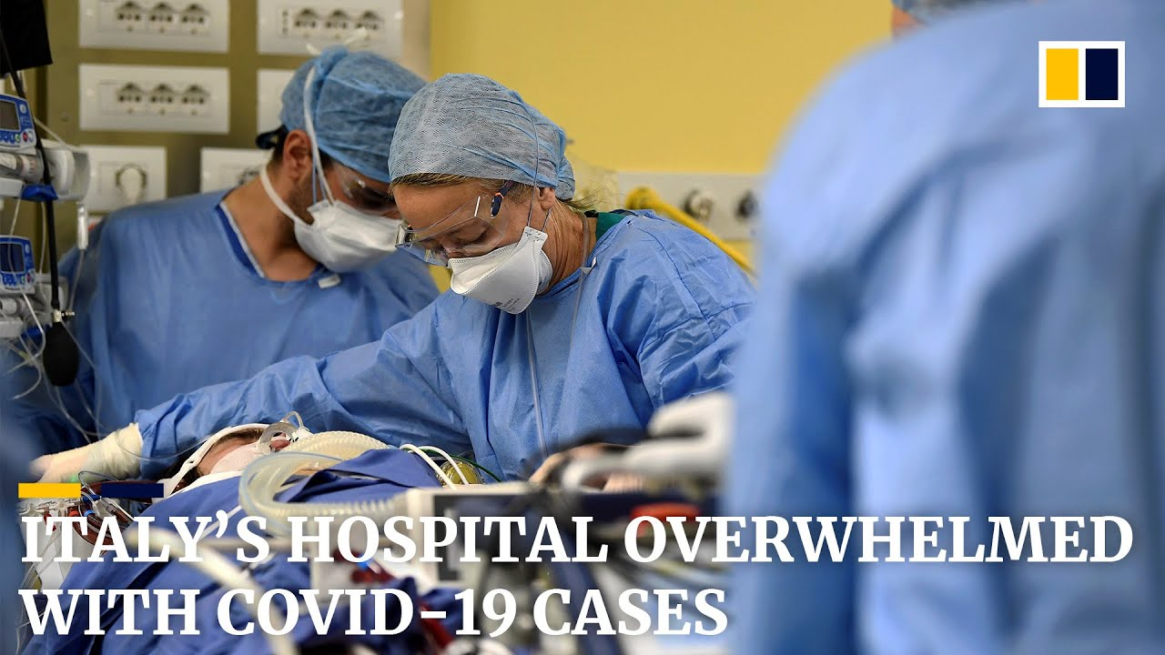 Hospital in Italy's worst-hit region overwhelmed by sharp influx of Covid-19 patients