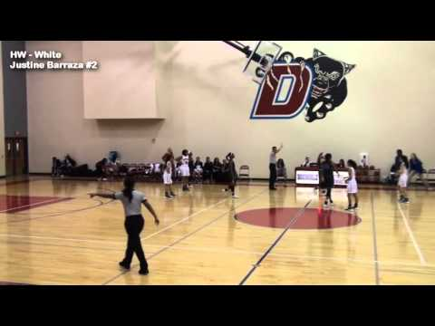 Justine Barraza #2 (HW vs. Denton Guyer TX - Sandra Meadows Tourney - December 2015)