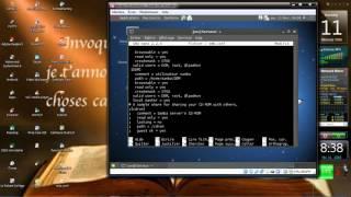 installation et configuration SAMBA et Client sous Debian 6