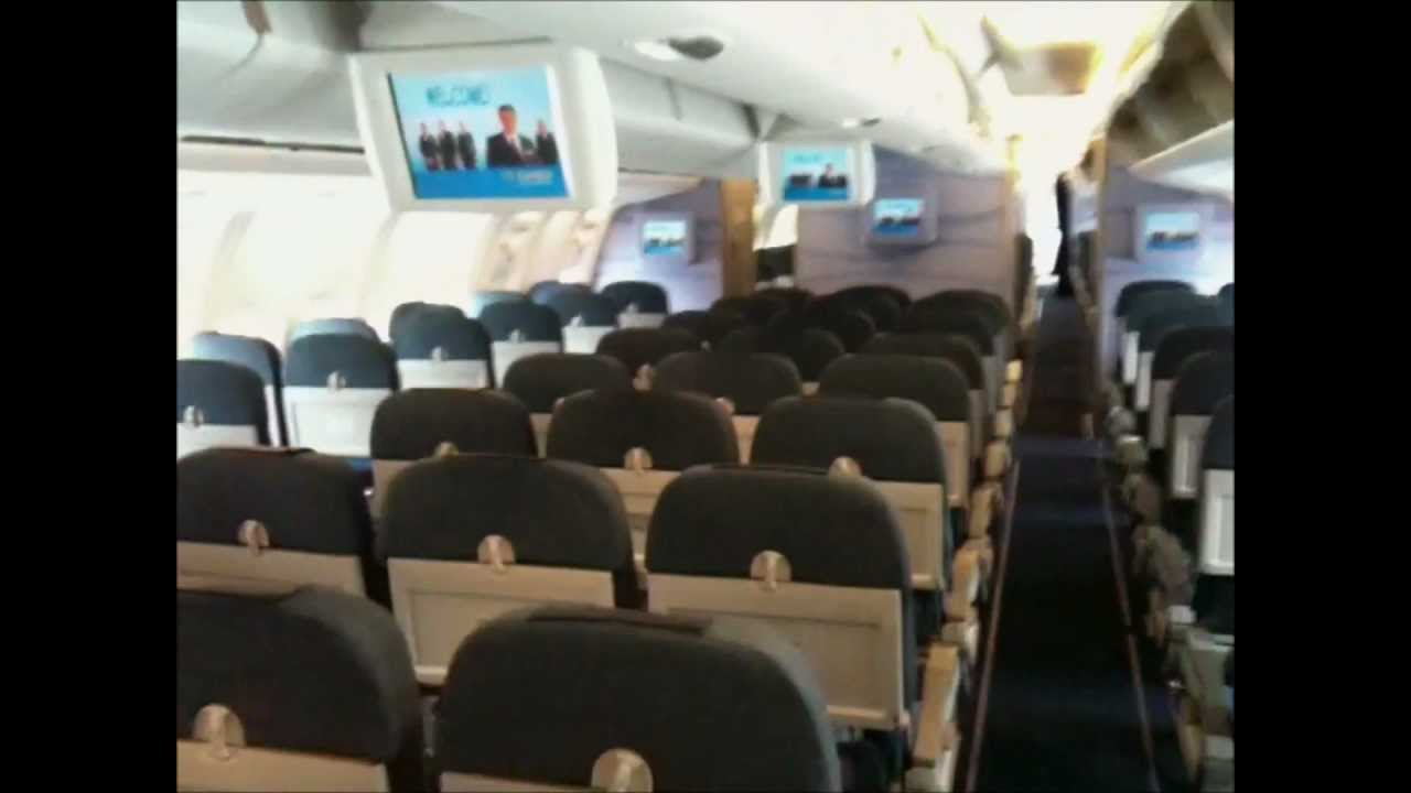 Condor 767 Cabin Tour Youtube