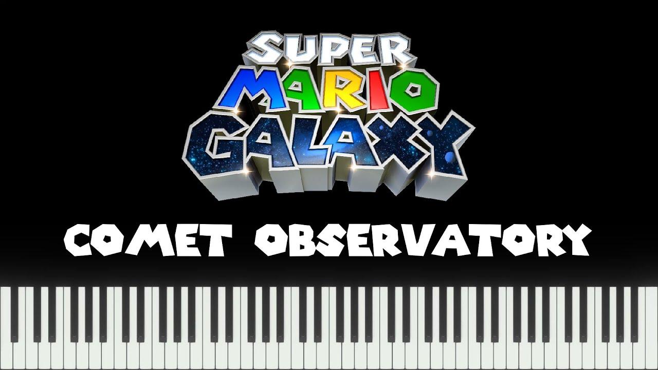 Super Mario Galaxy - Comet Observatory (Piano Version)