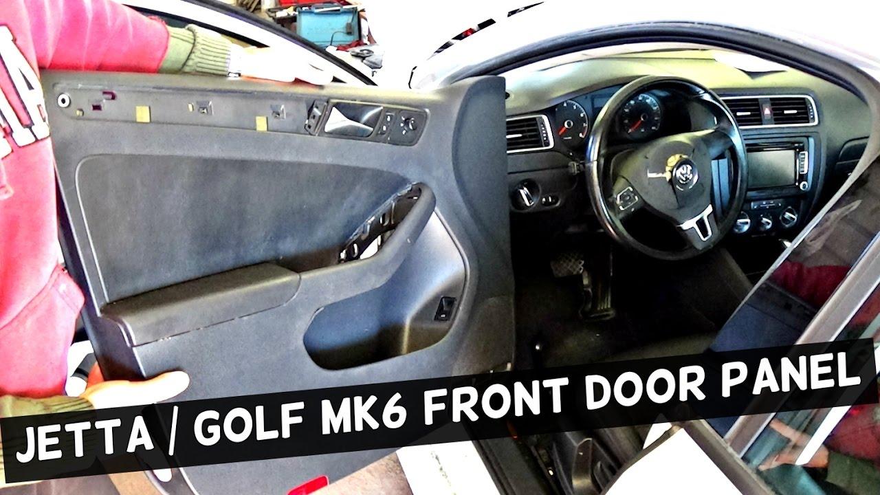 Vw Jetta Mk6 Front Door Panel Removal Vw Golf Mk6 Door