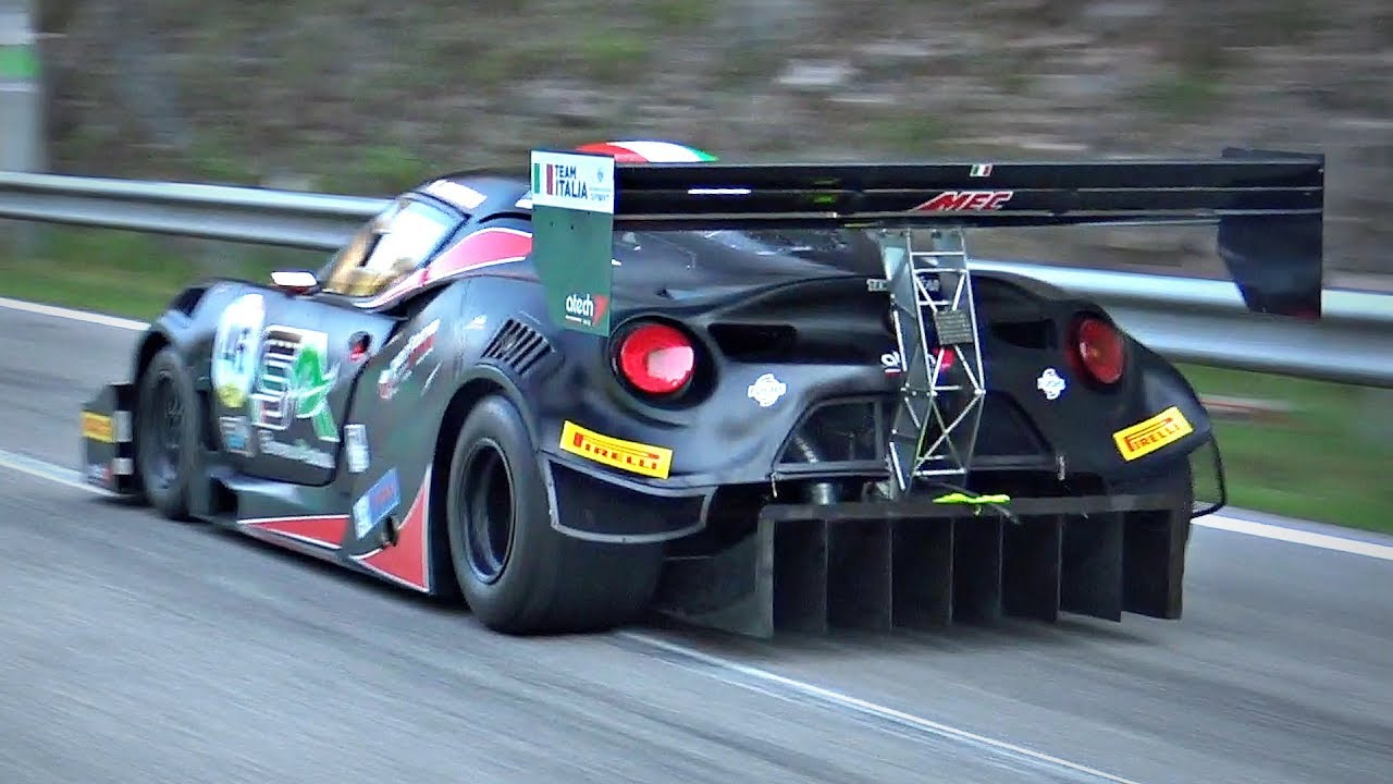 Alfa Romeo 4C Turned Into a Hillclimb MONSTER! - 550HP TURBO Engine by AER & 890kg!