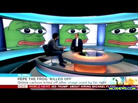 BBC News Covers The Death OF Pepe The Frog