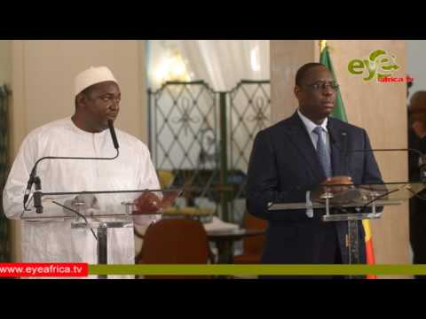 President Barrow on the timba Business between Gambia and Senegal