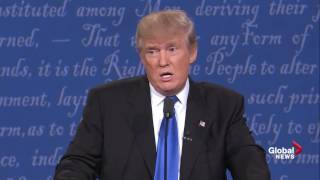 Presidential debate: Donald Trump tells moderator Lester Holt he's wrong on 'stop and frisk'
