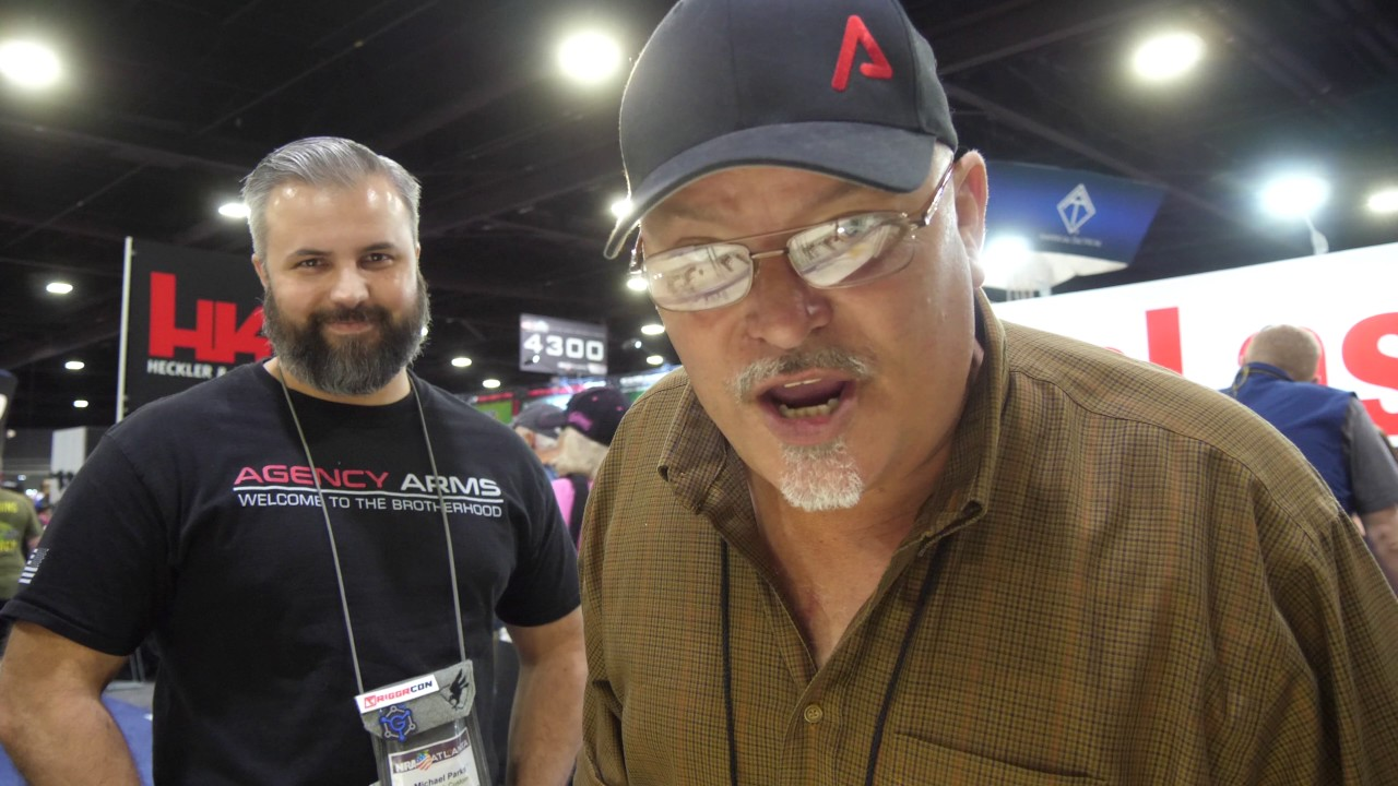 Mike Parks from Agency Arms-Finally I Meet the Director NRA 2017