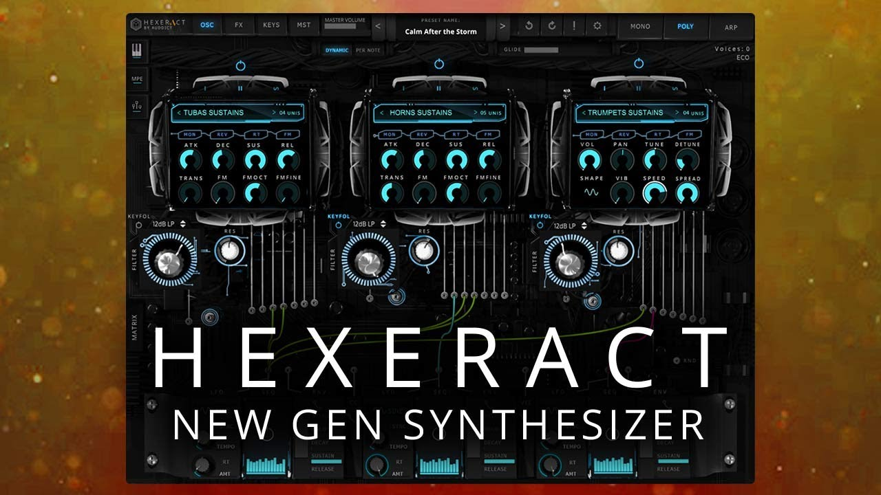 HEXERACT - The New Generation of Software Synth - VST AU AAX
