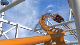 X Coaster Contest Submission || NoLimits 2 Pro