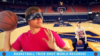 WORLD RECORD Basketball Trick Shots w/ Legendary Shots WRW Ep. 10
