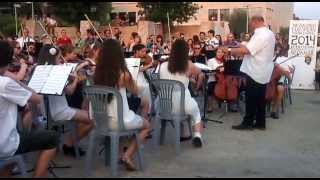 """Jugendorchester Wil"" live in the White Tower - Zorba The Greek theme"