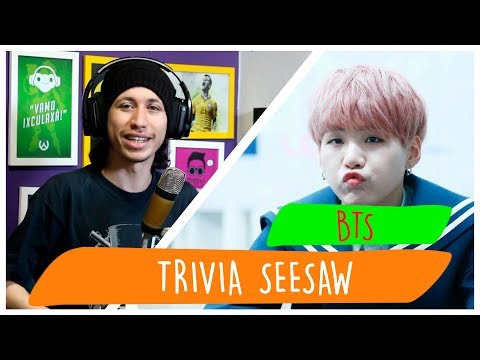 REAGINDO À BTS - Trivia 轉: Seesaw SUGA SOLO Legendado