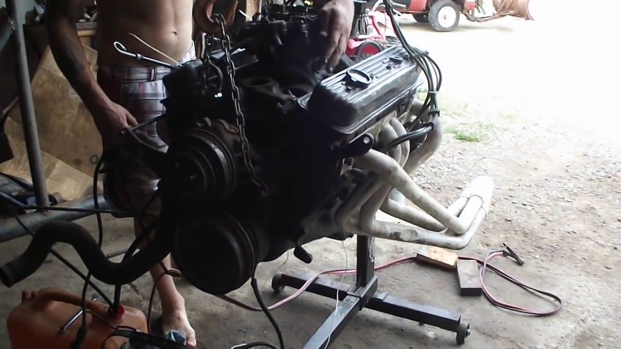 1988 305 Tbi To Carb Conversion Intake Mod Youtube Chevy 350 Heads