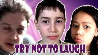 Try Not To Laugh Or Grin Kids Challenge! (with PPAP)
