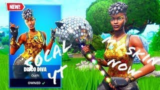 50CalYT : Fortnite Disco Diva Gameplay My skin Noww🔥🔥🔥🔥👻