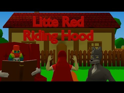 Fairy Tale #1 The Little Red Riding Hood [Blender Animation Ryona]