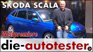 Skoda Scala - Weltpremiere des Skoda Rapid Spaceback Nachfolgers | Fahrbericht | Review | Deutsch