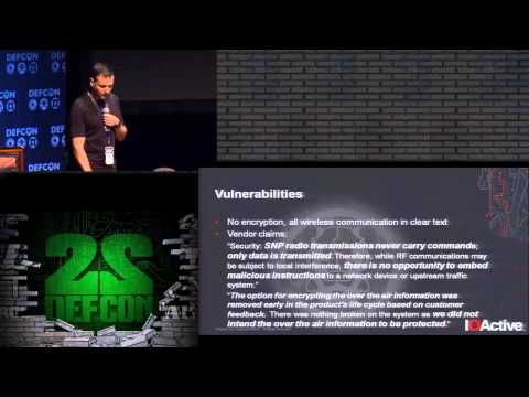 DEF CON 22 - Cesar Cerrudo - Hacking US (and UK, Australia, France, etc.) traffic control systems