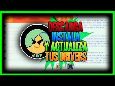 Descarga, Instala Y Actualiza tus DRIVERS ✅ [ 3DP CHIP ] ✅    TUTOS-PC&ANDROID