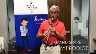 Prodige clarinet with Charles West