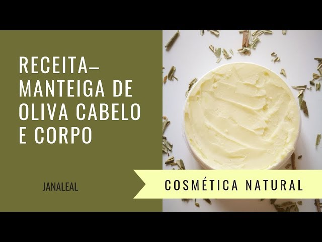 Receita–Manteiga de oliva