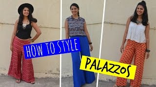 How To Style Palazzos