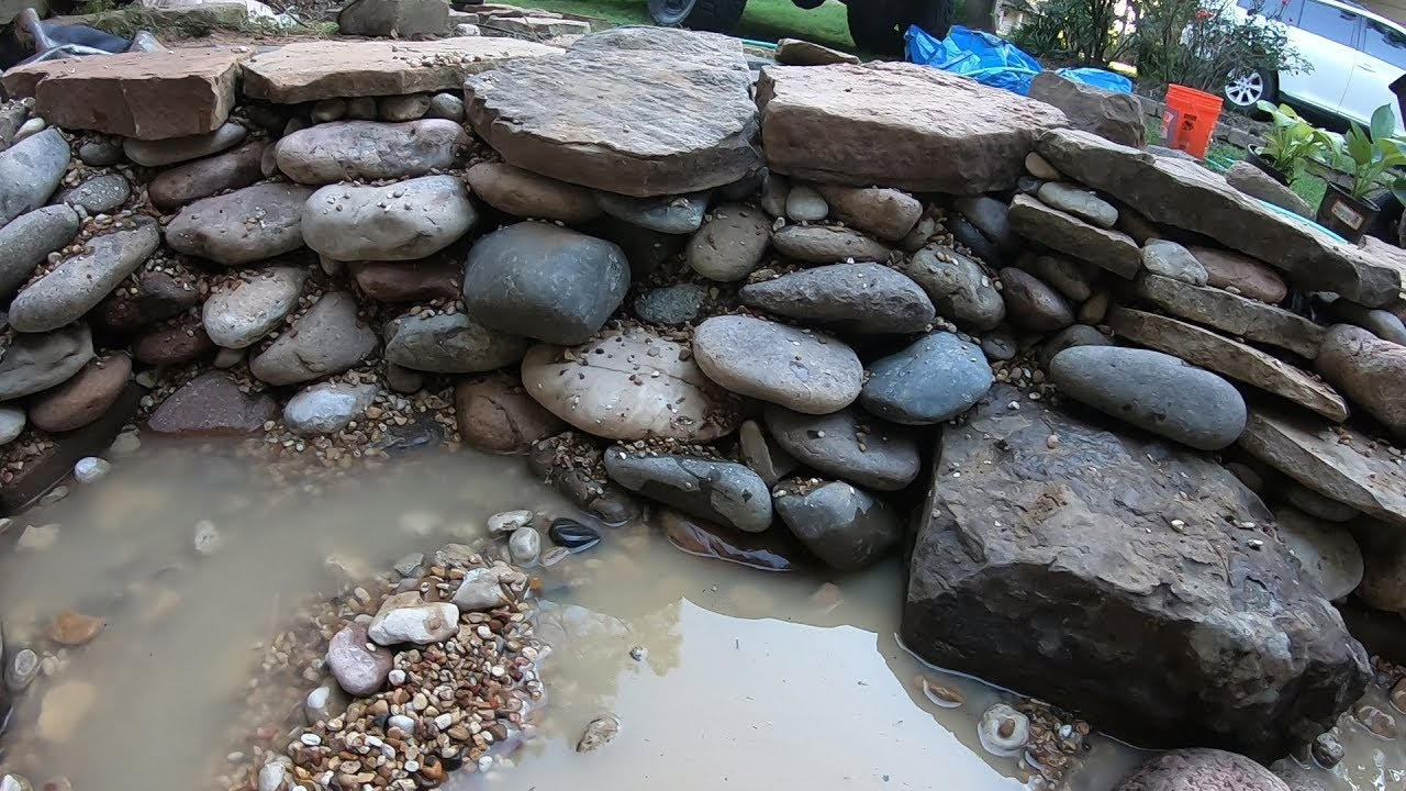 $300 Home Depot Front Yard Pond Build with Finatic! - #3 ... on Front Yard Pond  id=40507