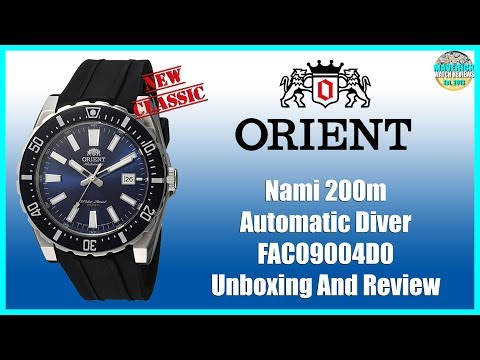 Like Father Like Son! | Orient Nami 200m Automatic Diver FAC09004D0 Unboxing And Review