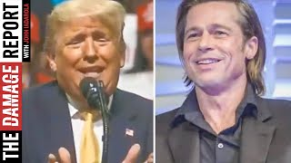 Trump ATTACKS Brad Pitt In Speech