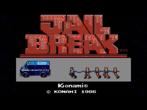 Jail Break 1986 Konami Mame Retro Arcade Games