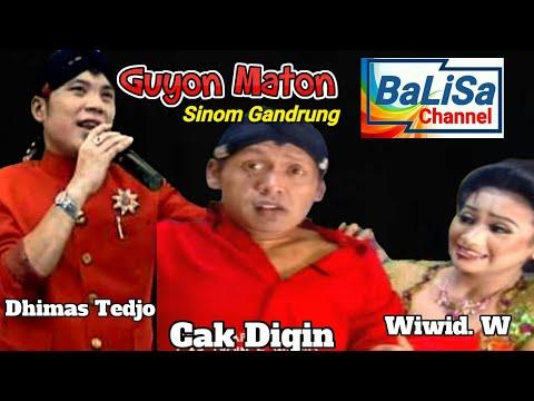 Dhimas Tedjo, Cak Diqin, Wiwid : SINOM GUYON MATON  campursari