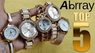 Top 5 Best Cheap Women's Watches From Abrray - Reviews
