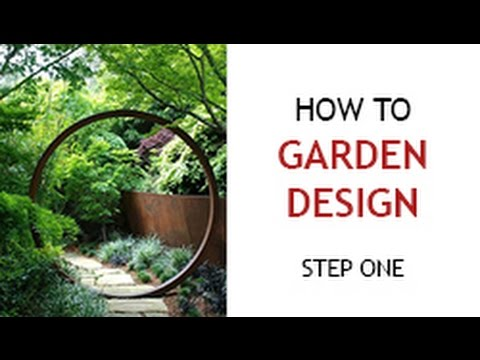 Step 1   How To Design A Backyard Garden   YouTube