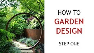 Step 1 - How to Design a Backyard Garden