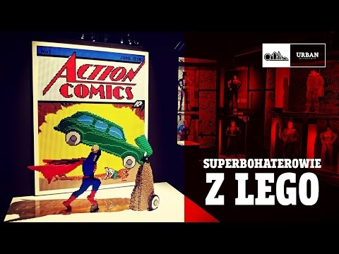 Superbohaterowie z LEGO #67 ( THE ART OF THE BRICK: DC COMICS,  LONDYN )