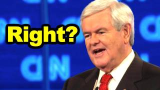 Gingrich on SOPA Proves Even a Stopped Clock is Right Twice a Day?