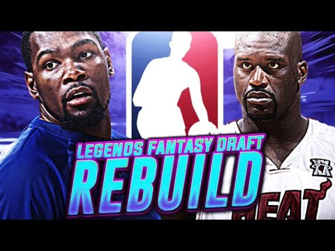 9 90'S?!?!? LEGENDS FANTASY DRAFT REBUILD! NBA 2K18!