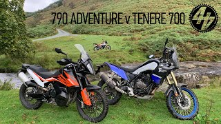 KTM 790 Adventure vs Yamaha Tenere 700