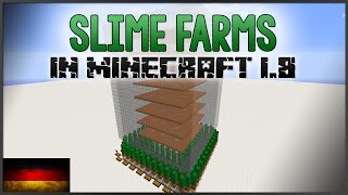 Minecraft - Slime Farms in 1.8 [German]