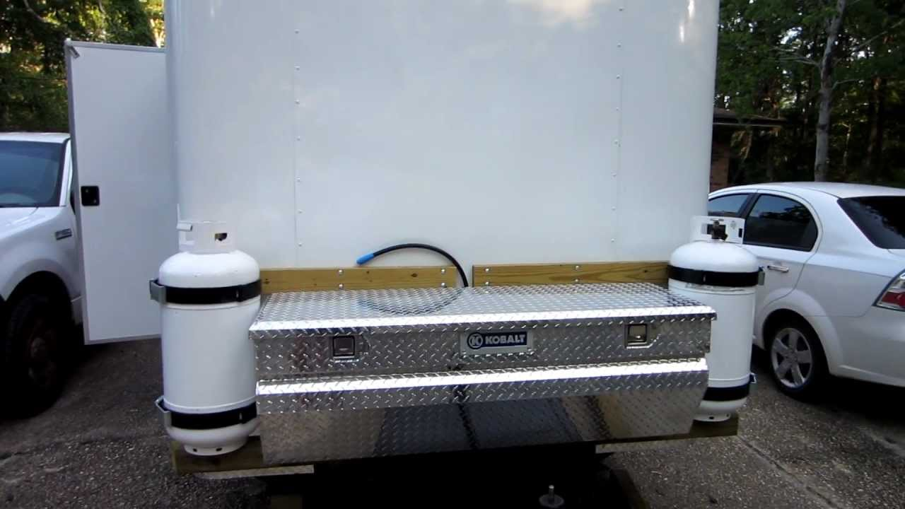 Propane And Truck Box Tongue Mounting Youtube
