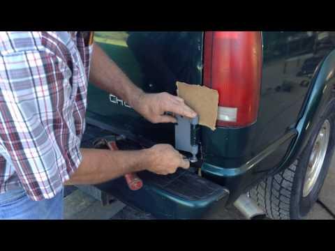 How To Remove Chevy Gmc Tahoa Suburban Rear Barn Doors